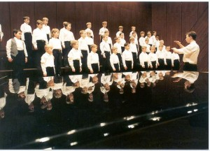 First concert of BONIFANTES Boys Choir